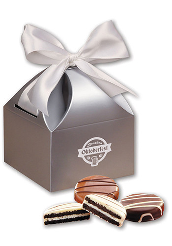 Oreos Chocolate Covered in Silver Gift Box | MRSCT114