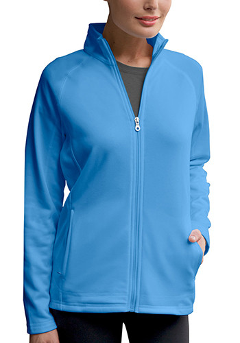 Women's Brushed Back Full-Zip Jackets | 3271