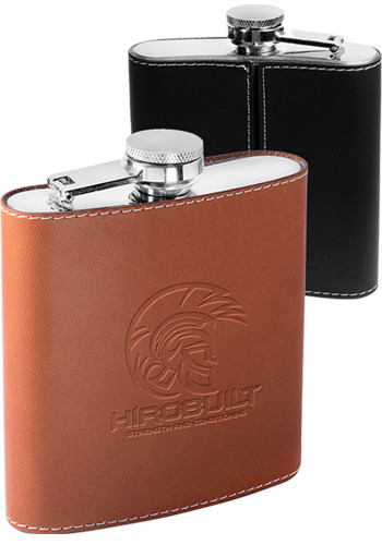 Personalized 6 oz. Tuscany Stainless Steel Flasks