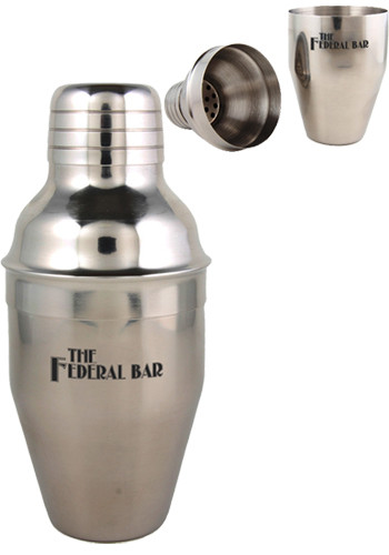 7 oz. Stainless Cocktail Shakers | EDMS7