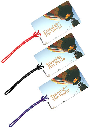 Promotional Name Card Slip-In Pocket Luggage Tags