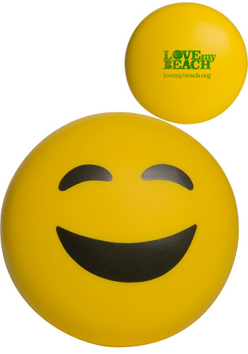 Happy Face Emoji Stress Balls | AL26635