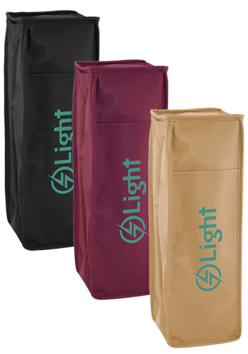 Bulk Polypropylene Insulated 1 Bottle Tote Bags