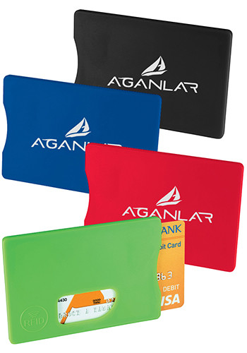 Promotional RFID Credit Card Protectors