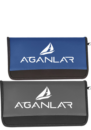 Zippered Vylon Document Cases | MG819