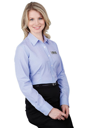 Women's Hayden Long Sleeve Dress Shirts | LETM97654