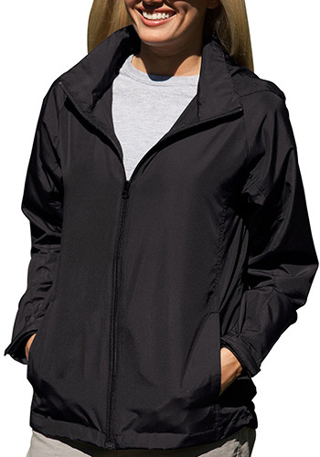 Women's Lightweight Full-Zip Hooded Jackets | 7071