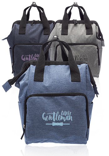 Personalized Provo Backpacks with Tote Handles