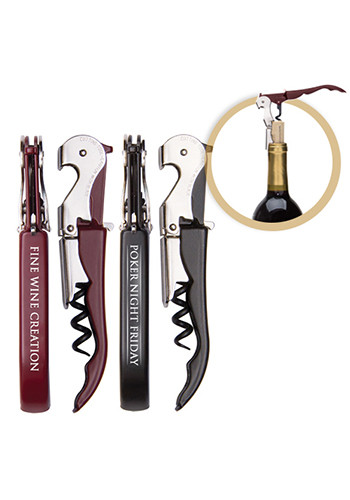 Promotional Pulltap's Double Hinged Waiters Corkscrews