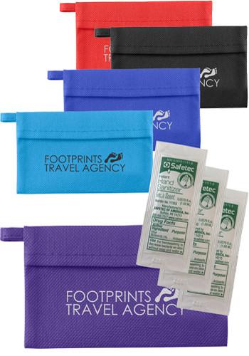 Quickcare Prevent Sanitizer Kit - 3 Packets   EM3514