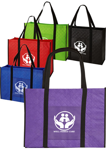 Wholesale Quilted Non-Woven Tote