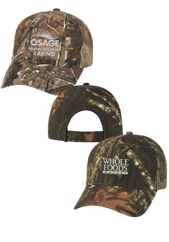 86c53daa736 Camouflage Caps · Realtree Mossy Oak Hunters Retreat Camouflage Caps