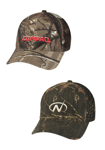 Realtree Mossy Oak Hunters Retreat Mesh Back Camouflage Caps | X10217