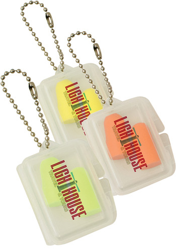 Promotional Rectangle Case Ear Plugs