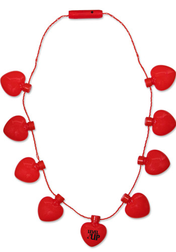 Red Heart LED Necklaces | WCLIT480