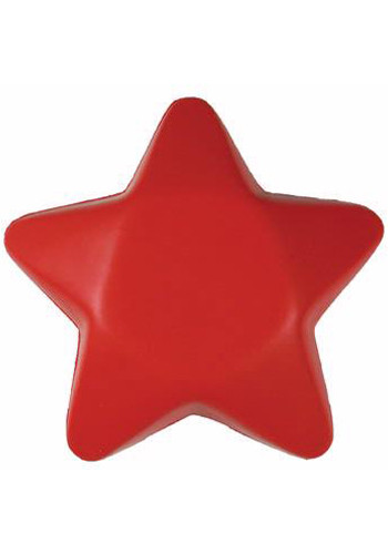 Custom Red Star Stress Balls