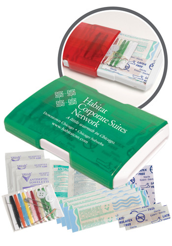 Promotional Redi Travel Aid Kits
