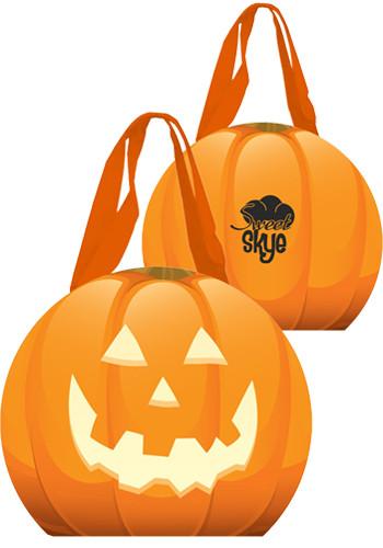 Reflective Halloween Pumpkin Tote Bags | X20208