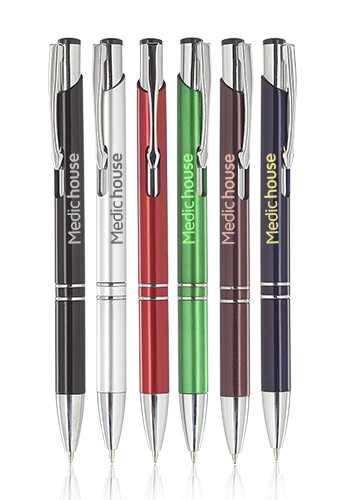 Retractable Plastic Ballpoint Pens