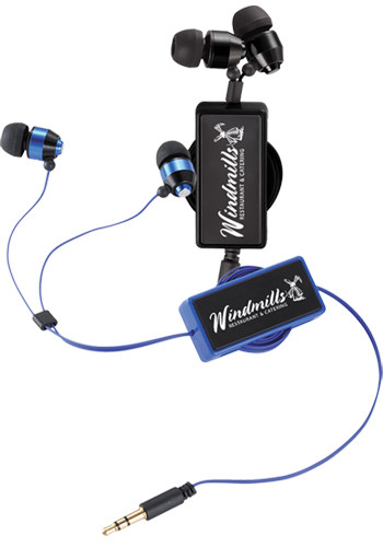 Custom Revolve Earbuds in Windup Cases