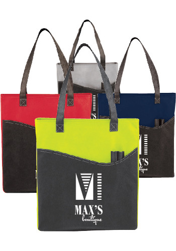 Wholesale Rivers Pocket Convention Tote Bags