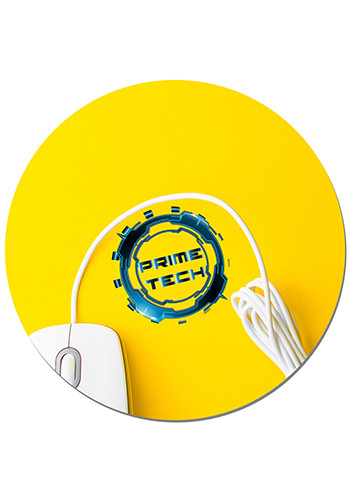 Custom Round Full Color Mouse Pads 1/8