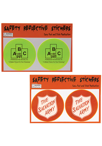Round Safety Reflective Stickers | IL1893
