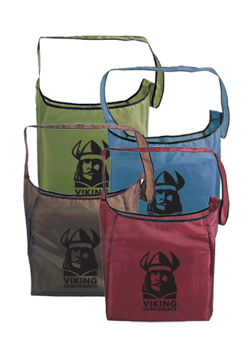 Customized RPET Fold-Away Sling Bags