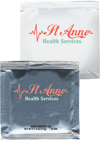 Promotional Sanitizer Gel Packets
