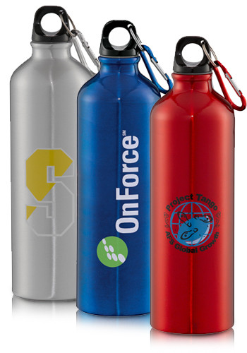 Personalized 26 oz. Santa Fe Aluminum Bottles