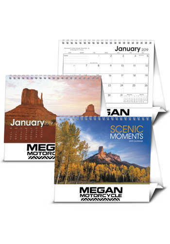 Scenic Moments Large Desk Calendars | X11589