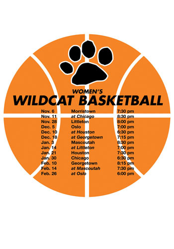 Schedule Basketball Magnets | MGSCH04