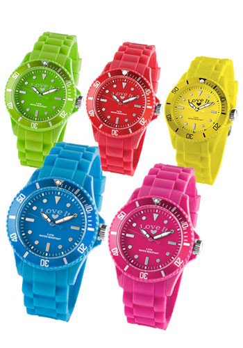 Analog Silicone Watches
