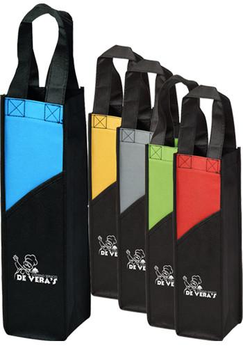 personalized wine bags custom wine bottle bags discountmugs