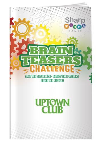 Sharp Minds Games - Brain Teasers   X30287