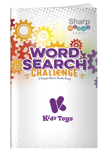 Sharp Minds Games - Word Searches Challenge | X30289