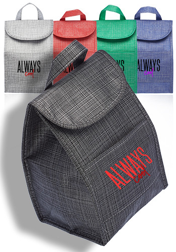 Custom Shimmer Insulated Lunch Bags