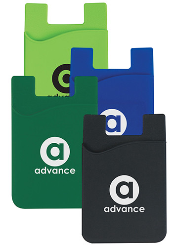 Silicone Magnetic Auto Air Vent Phone Wallets | X20147