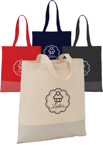 Silver Line Cotton Convention Totes | SM5821