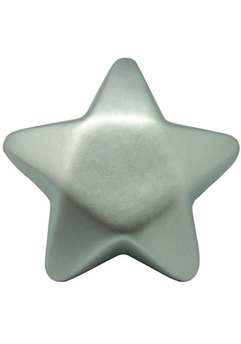 Wholesale Silver Star Stress Balls