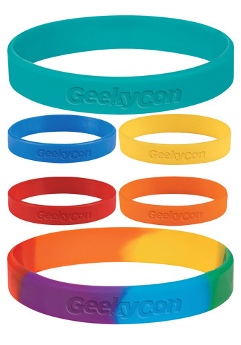 Promotional Single Color Silicone Bracelets