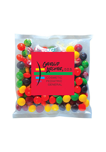 Personalized Skittles in Small Label Pack