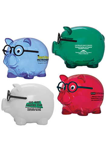 Promotional Smart Saver Piggy Banks