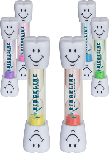 Personalized Smile Two Minute Brushing Sand Timers