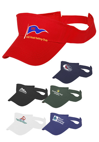 Embroidered Visors