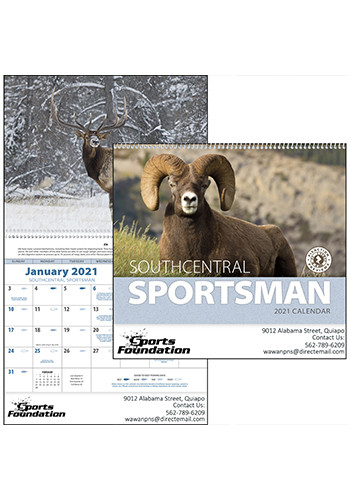 Southcentral Sportsman Triumph Calendars | X11331