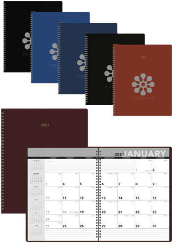 Promotional Spiral Monthly Planners