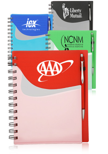 Spiral Notebooks with Front Pocket | NOT04