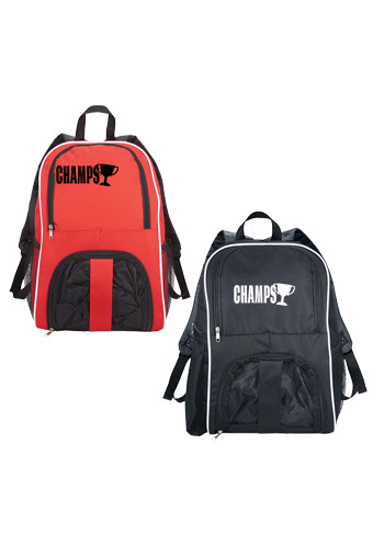 Promotional Sporting Match Ball Backpacks