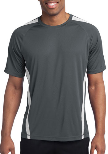 Sport-Tek Colorblock Competitor Tee Shirts | ST351